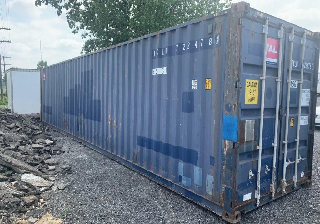 Portable Storage - 40' Insulated Storage Containers For Sale